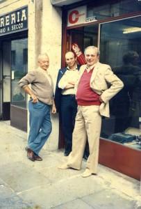 Foto vecchia del negozio in Via Marsala 20/A